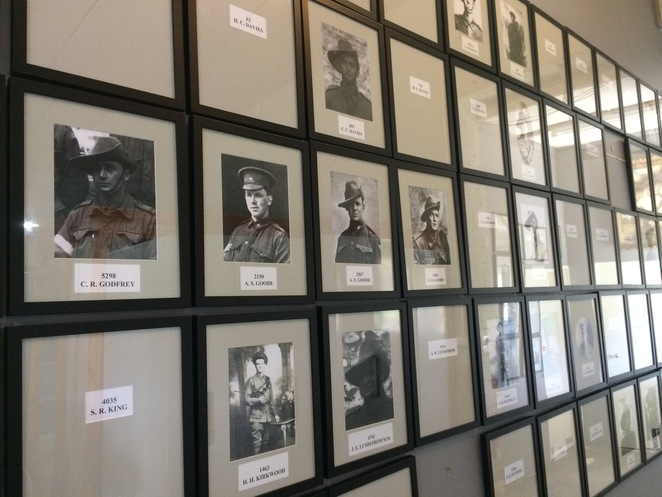 The Goolwa Soldiers Memorial Wall