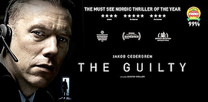 the guilty, film review, movie review, danish film