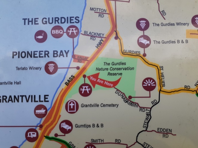 The Gurdies Nature Conservation Reserve location
