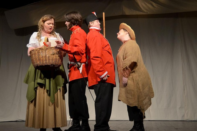The Recruiting Officer by Blackwood Players Inc at The Blackwood Memorial Hall