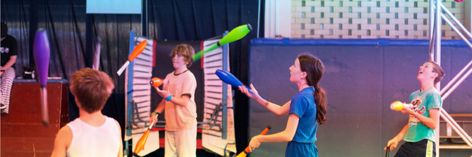 Warehouse Circus, September and October School holidays, ACT