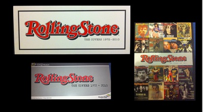 Covers of the Rolling Stone @ Pine Rivers Heritage Museum