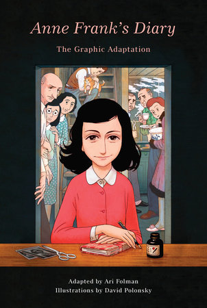 Anne Franks Diary Graphic Novel Adaptation