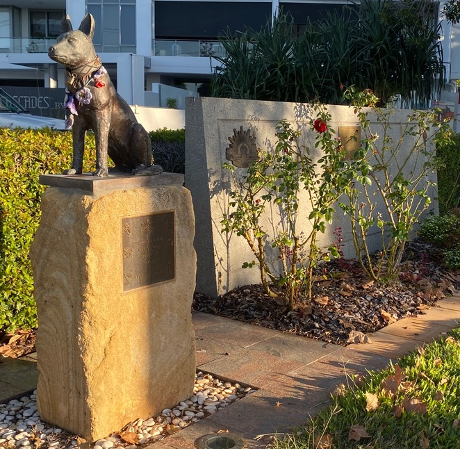 ANZAC Day memorials remember all who were lost, including service animals
