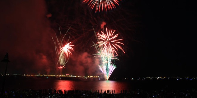 bayside council nsw fireworks