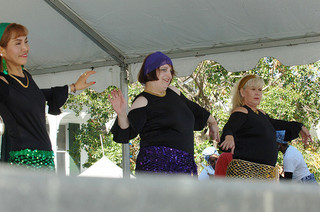 belly dance students