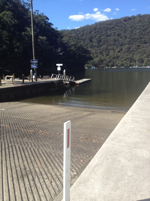 Berowra Waters boat ramp