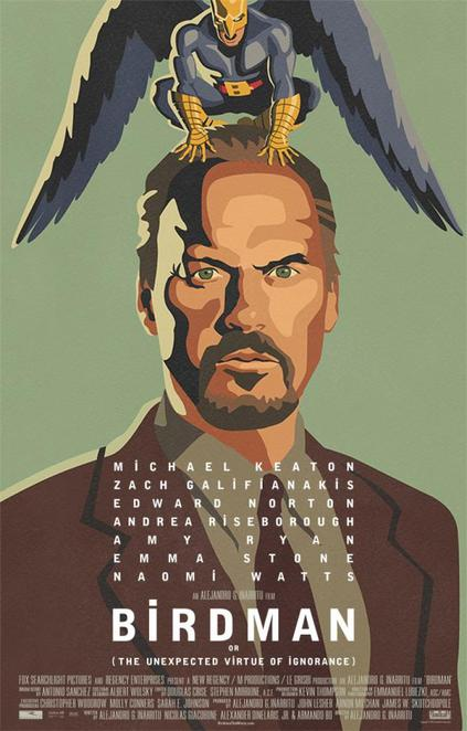 birdman, film review, movie review, michael keaton, edward norton, emma stone, Alejandro González Iñárritu, Zach Galifianakis, Naomi Watts