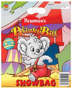 blinky bill, showbags, royal show