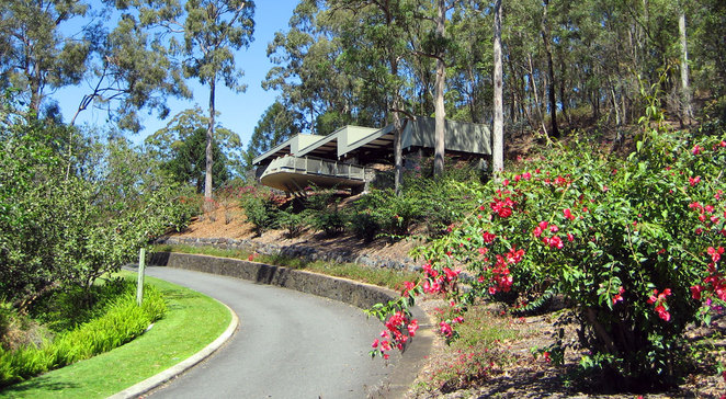 The Lookout in the Brisbane Botanic Gardens