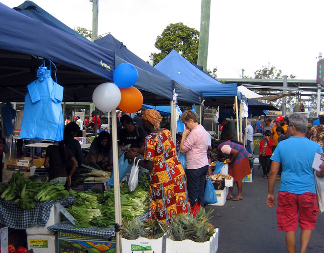 The markets at Woodridge are always a wonderful multicultural experience
