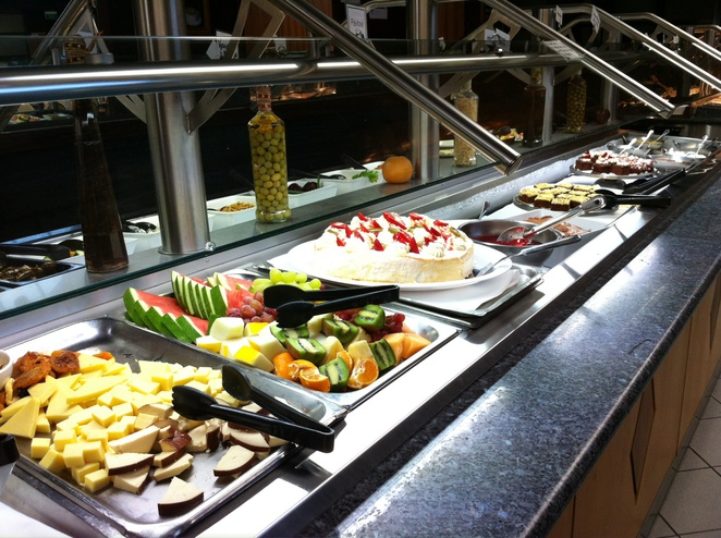 buffet at the Hahndorf Old Mill Hotel