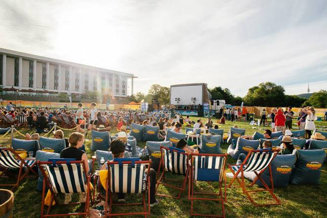 canberra open air cinemas, canberra, 2016, outdoor movies, ACT, family movies, cinema,