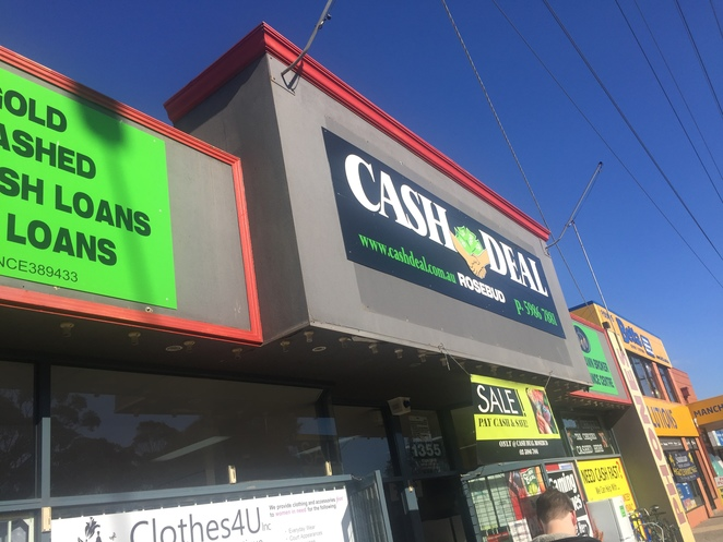 Cash Deal, Rosebud, Pawn Shop, Second hand