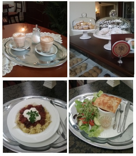 Coffee, Tea, Decaf, Meals, Cafe, Dinner, Dining, Palm Court Cafe, Mannum
