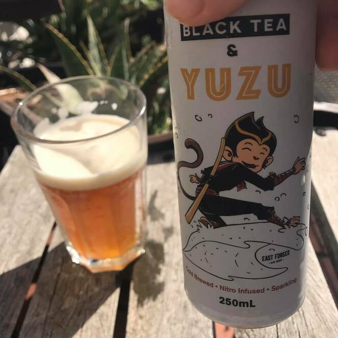 East Forged cold-brew tea