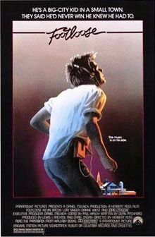 footloose, poster, film, movie, kevin bacon