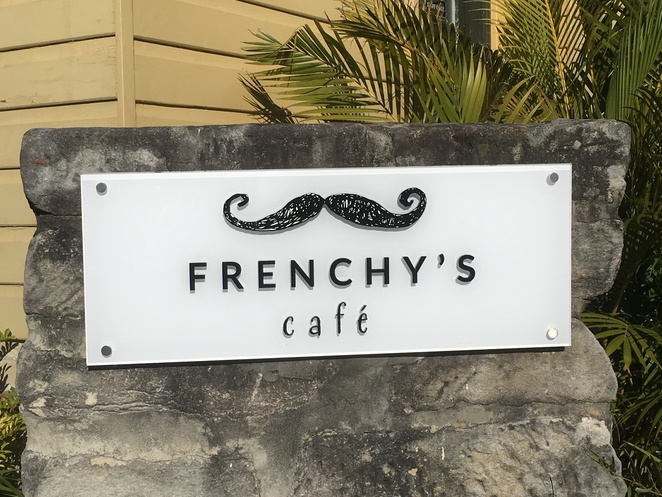 French food, leafy setting, all amenities, walks , beach