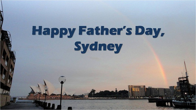 happy father's day sydney