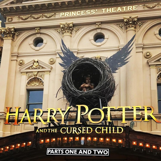 harry potter, play, princess theatre