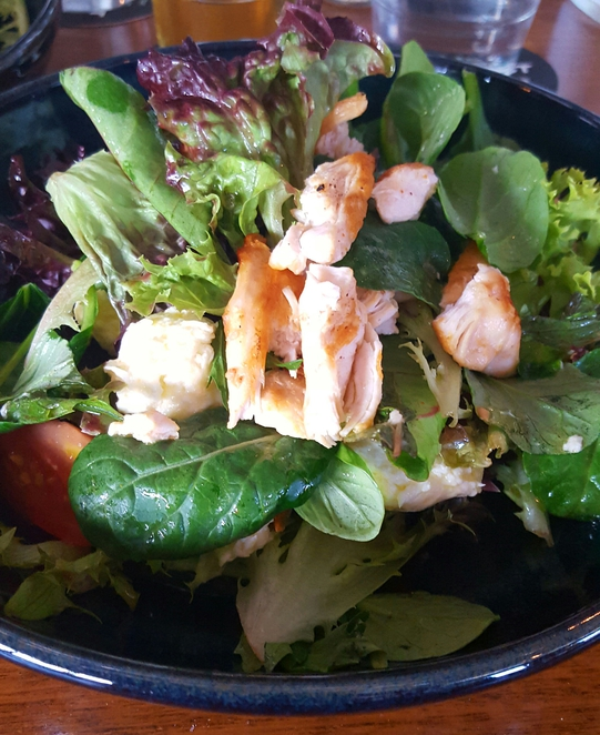Healthy, salad, lunch special