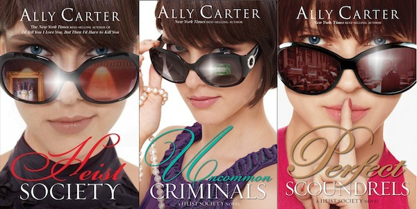 heist society, kat, hale, ally carter, books, heist, thief, thieves, robbery, paintings, gallagher girls, young adult, uncommon criminals, perfect scoundrels