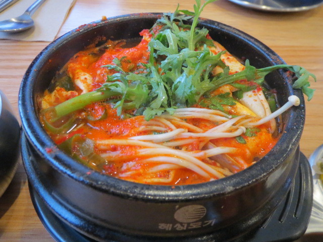 Kim's Asian Kitchen, Soft Tofu Soup, Soondooboo, Adelaide