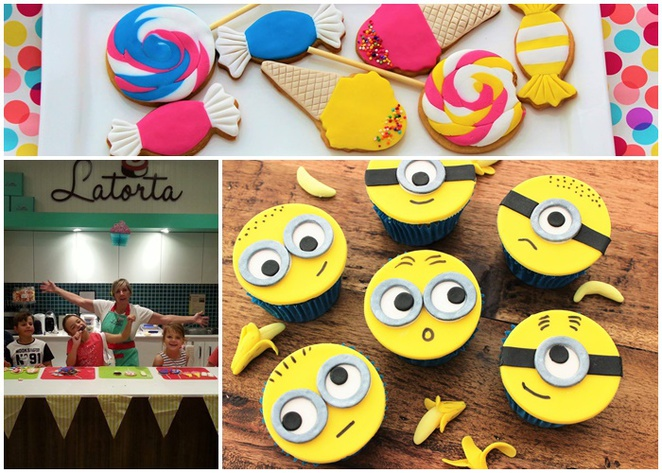latorta, canberra, cupcakes, childrens cooking schools, cupcake decorating, school holidays, ACT,