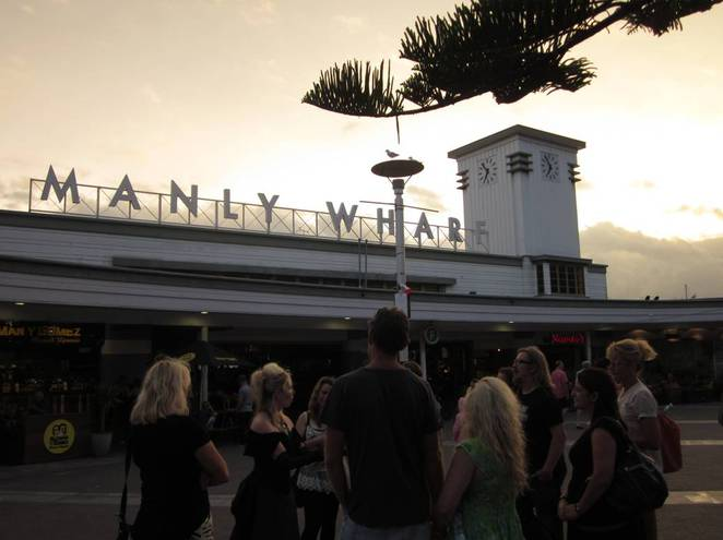 Manly, Manly Wharf, Manly Cove, Sinister Side of Manly Tours, Festival of Life