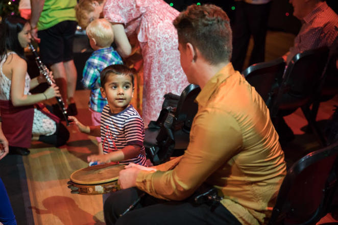 meet the orchestra, peter seymour orchestra, leichhardt town hall, sydnehy youth orchestras, fun for kids, community event, fun things to do, singing, music, musical instruments, music appreciation, performing arts, wind instruments, timpani drum, tuba, flutes, clarinet