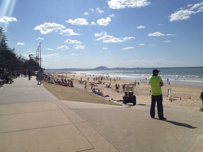 Mooloolaba Beach is one of the most popular on the Sunshine Coast