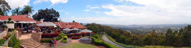 Mt Coot-tha summit, lookout, cafe and restaurant