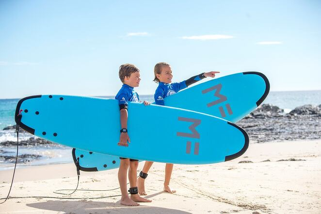 nudie surfgroms, nelson bay, port stephens, learn to surf, school holidays, 2019, summer, 2020, january, NSW,