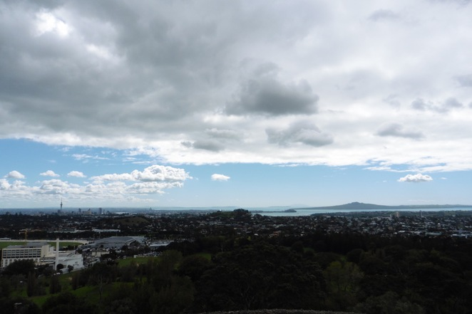 one tree hill, waitemata harbour, sky tower, rangitoto, auckland, volcano, view, obelisk