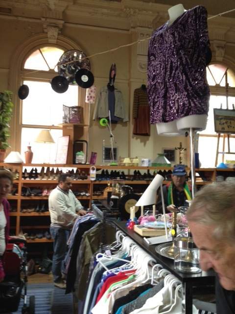 op shop, charity, Sacred Heart, mission