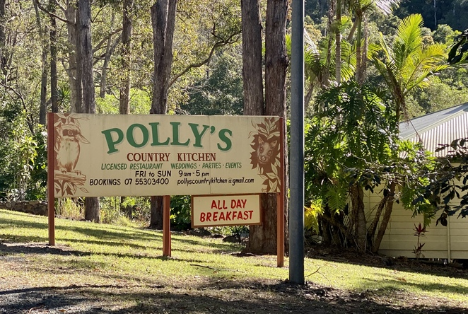 Polly's Country Kitchen is a delightful stop in the Gold Coast Hinterland