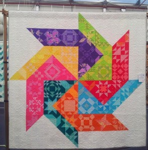 Patchwork quilt, Stitches and Craft Show