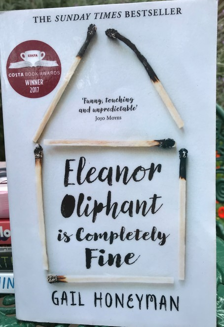 reading, books, summer, good read, bookworm, eleanor olphant is completely fine, Gail Honeyman