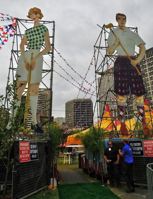 royal croquet club, fringe festival, fringe festival 2014, adelaide fringe, victoria square redevelopment, in adelaide, play croquet,victoria square, little miss mexico, the entrance