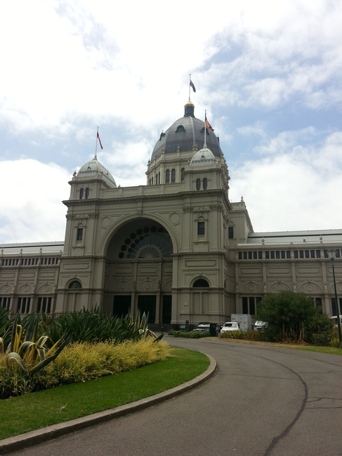 royal exhibition building, quilt, craft, challenge
