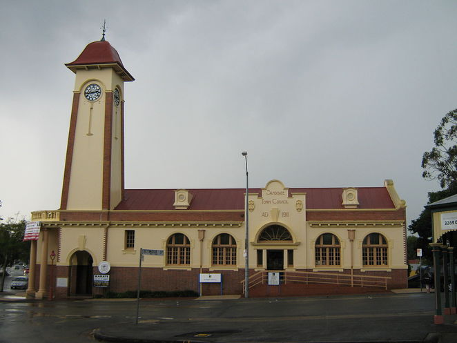 Sandgate Townhall (Courtesy of Brisbane City Council)