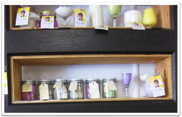 Soap candles Jessie Leigh Collectables op shop