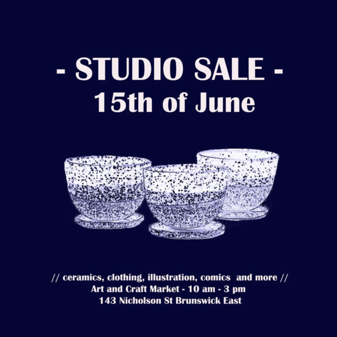studio sale in brunswick east, c o m collective studio sale 2019, community event, fun things to do, la petite fabrique de brunswick, east brunswick village, community event, fun things to do, alterfact studio, wolf and mishka, spots of dawn, soopa bags, jadeeleanorthorsen, html flowers, lisa peri ceramics, shopping event, studio bargains, one of a kind, hand made, ceramics, sculptural porcelain ware, clothing, homewares, durable bags, shopping bags, art, variety of media, community of makers