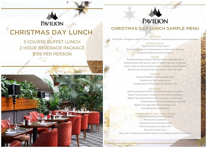 the pavilion, the atrium, christmas day, 2019, christmas lunch, Canberra, 2019, 2020, family, couples, hotels, northbourne ave,