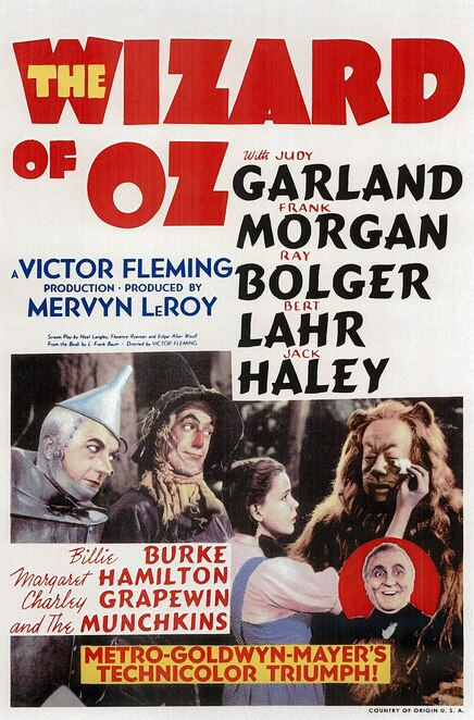 The Wizard of Oz, movies about witches, family friendly movies about witches