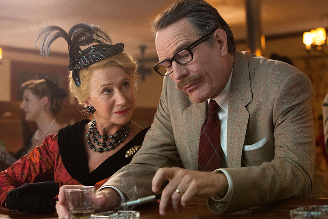 Trumbo, Cranston, Mirren, Oscar, Hollywood