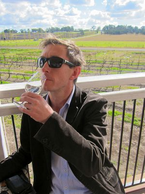 Wine Tasting, Keith Tulloch, Hunter Valley