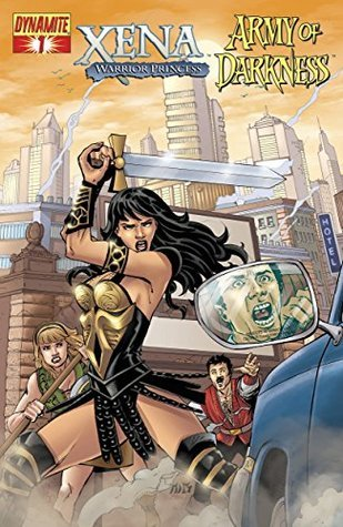Xena, Xena Warrior Princess, The Evil Dead, Army of Darkness, Bruce Campbell, Lucy Lawless, comic crossover, comics, weird comics
