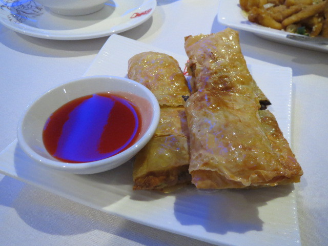 Yum Cha at Chef Dong, Fried Bean Curd Rolls, Adelaide