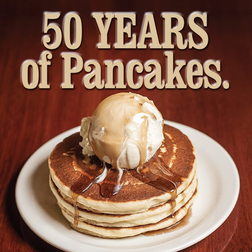 Pancake Parlour Turns 50 Celebrations Win A Lovely Hot
